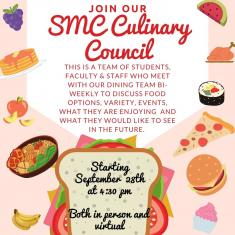 Image for SMC Dining Culinary Council Meeting