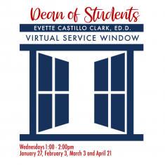 Image for Dean of Students Virtual Service Window