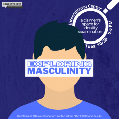 Image for Collective Hour: Exploring Masculinity: Cis Men's Space for Identity Examination