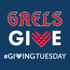 Image for #GivingTuesday 2020: Gaels Give