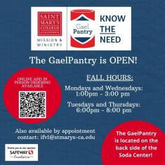 Image for GaelPantry is Open!