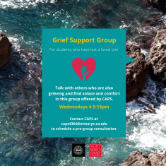 Image for Grief Support Group at CAPS