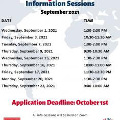 Image for Study Abroad Information Session