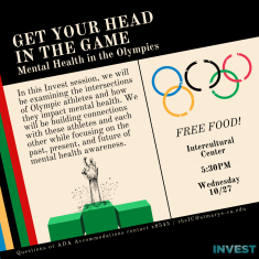 Image for Get Your Head In The Game: Mental health in the Olympics