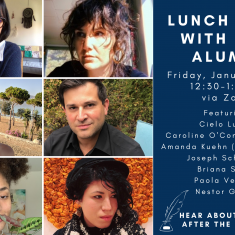 Image for Lunch Hour with MFA in Creative Writing Alumni