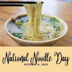 Image for National Noodle Day