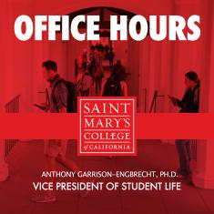 Image for Office Hours with Vice President of Student Life | Anthony Garrison-Engbrecht, Ph.D.