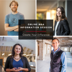 Image for Information Session: Online MBA