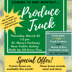 Image for GaelPantry/Food Bank Produce Truck Event - Free Produce & Non-Perishable Food
