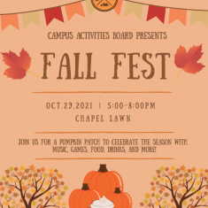 Image for Campus Activities Board Fall Fest!