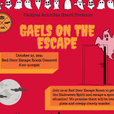 Image for Campus Activities Board: Gaels on the Escape!