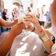 Image for Champagne Toast and Marriage Blessing