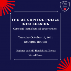 Image for United States Capitol Police Info Session