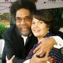 Jennifer & Visiting Scholar Dr. Cornel West
