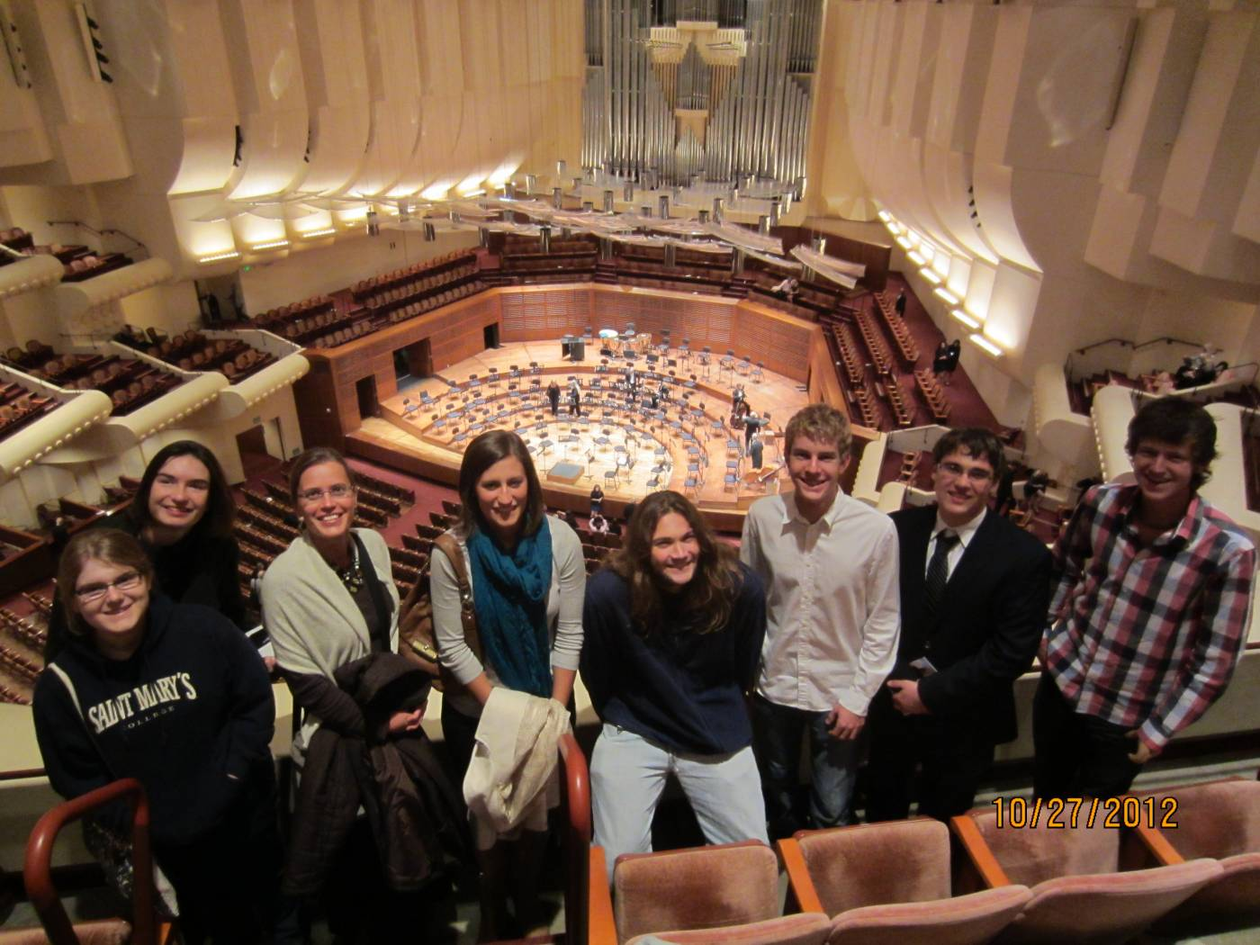 German 1 at the SF Symphony