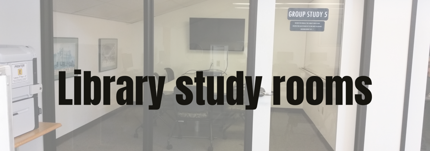 Library Study Rooms