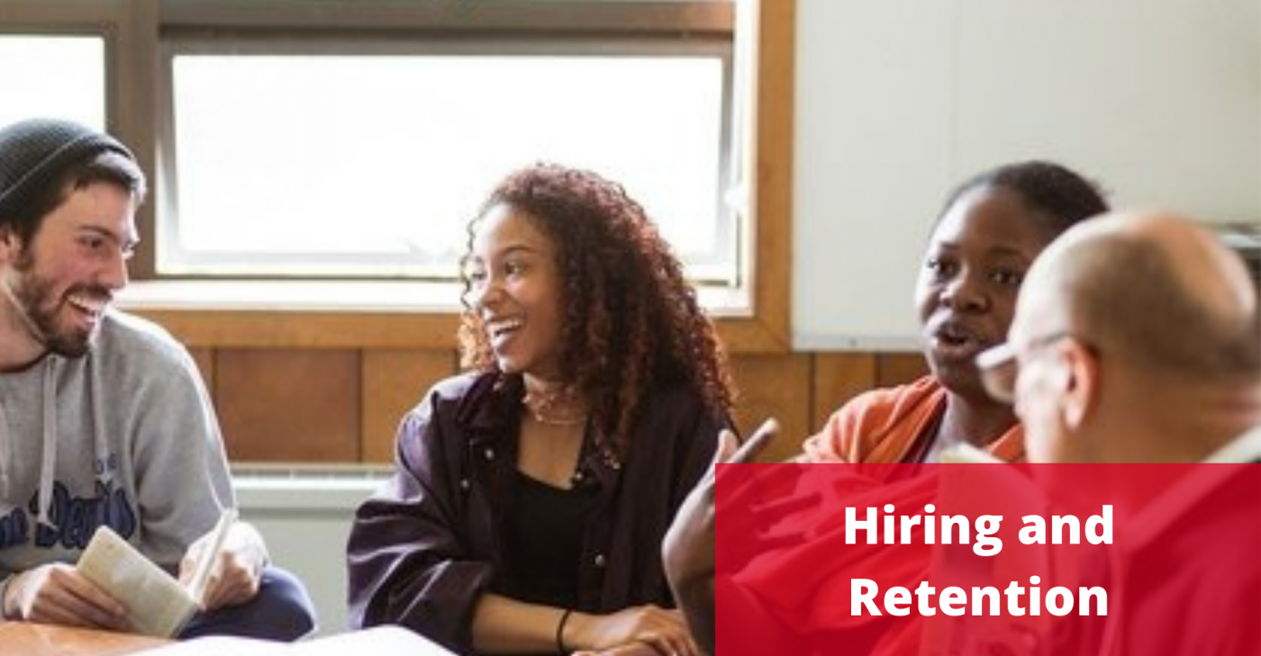 Image with Hire and Retain