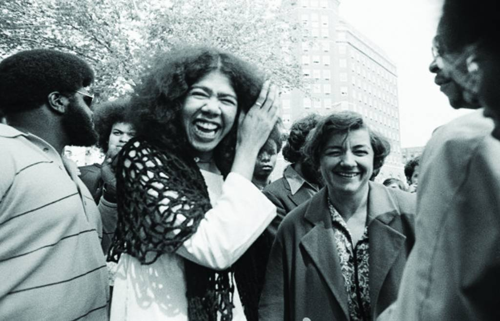 <p>Ericka Huggins: Educator and former leading member of the Black Panther Party</p>