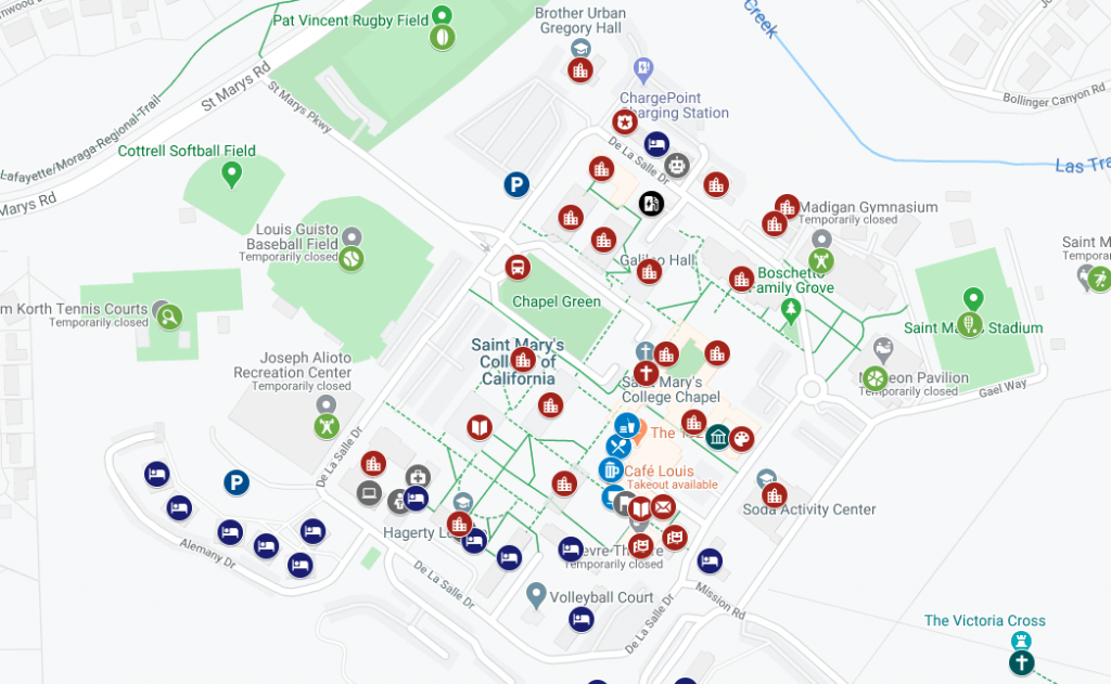 an image of google my campus maps