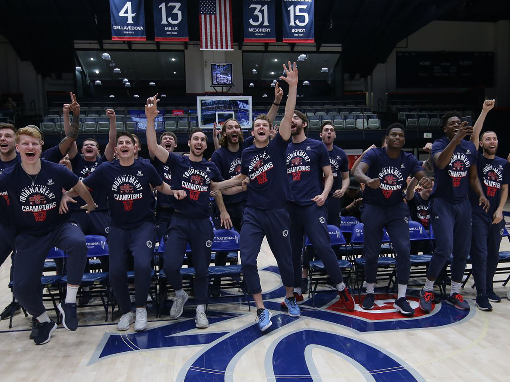 SMC will take on the Villanova Wildcats in the opening round of the NCAA Tournament
