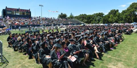 2014 Graduate and Professional Programs Commencement.