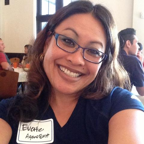 """""""Excited for my first full academic year at SMC!"""" — Dr. Evette Castillo Clark, Dean of Students"""