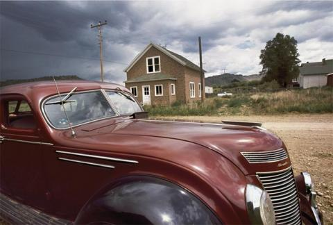1937 Airflow, Steamboat Springs, 1969, Gift of the Artist