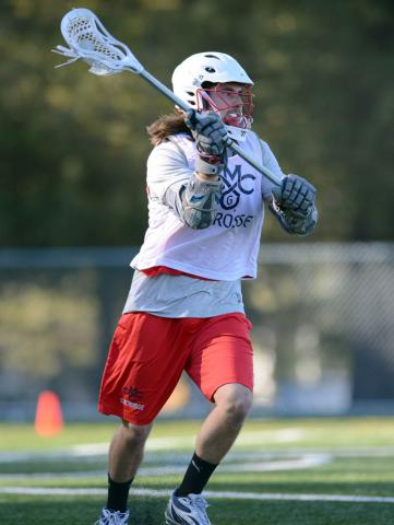 Men's Lacrosse Alumni Game 2014