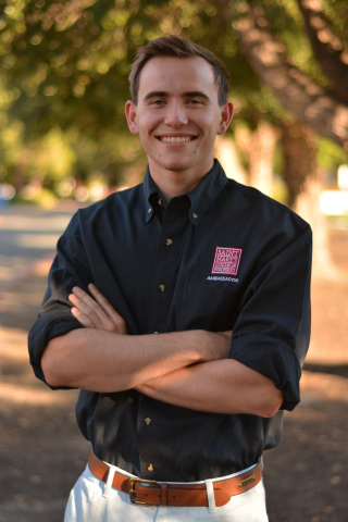 "Eric Chapman '20 is from Stockton, California. He is a business major and serves as part of the SEBA student advisory board. Eric's favorite Seminar reading is ""Maus"" by Art Spiegelman"