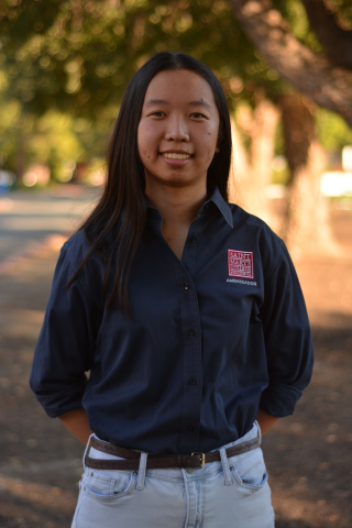 Esther Woo '20 is from Dublin, California. She is majoring in Biology and minoring in Justice, Community and Leadership. She plans events for the Honors Program and and works in the Legacy Garden on campus.