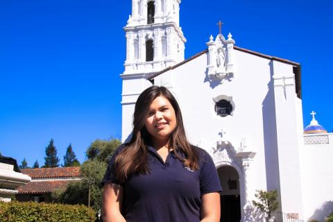 I'm Elizabeth Giron, a sophomore from Novato, California, studying Business Administration with a concentration in Finance.  I can't wait to tell you the awesome memories and experiences I've had at SMC.