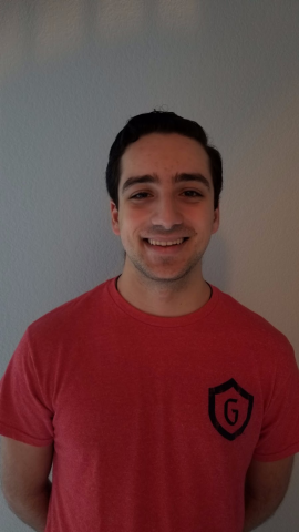 Hi my name is Geoffrey Khoury and I am from Pleasanton, CA. I am a Third Year, Biochemistry major involved in Gael force and the STEM center. Going into this next year I'm really excited to meet and guide the incoming First Years into a great new school year.