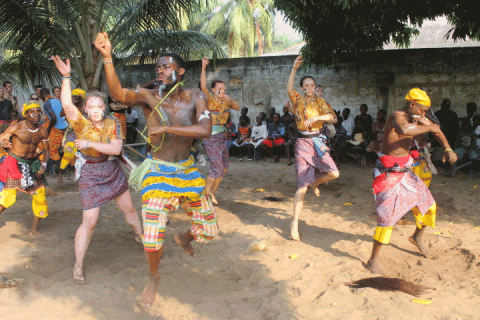 Ghana Group of Dancers