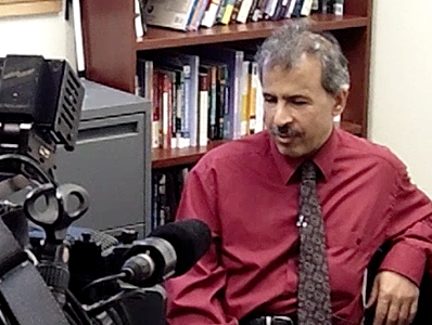 SMC Politics Prof. Hisham Ahmed talks with KTVU News about the Arab Spring