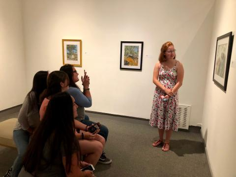 Orientation Activity at the SMC Museum of Art