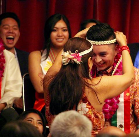 Students celebrate during one of four SMC Cultural Graduate ceremonies during Commencement season at the College.