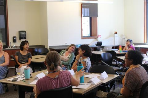 2019 CEL Summer CO-LAB participants at the 2019 CEL Summer CO-LAB at Saint Mary's College of California: July 26-28th, 2019. Photography by Maureen Esty and Haley Nelson