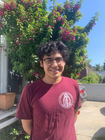 My name is Jonah Cano. I'm a sophomore from Long Beach, California. I'm a Business major involved in The Republican club, Our Lady of Guadalupe planning committee, and KSMC which is the on campus radio station. I'm very excited for this upcoming orientation for the class of 2024 as it's a new experience for us leaders as well that I think everyone will enjoy.