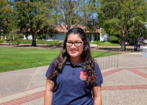 Hey everyone! My name is Karina I am a Justice, Community and Leadership Major, I work in the Admissions Office and I can't wait to get to know y'all!