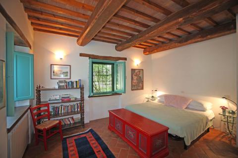 La Quercia villa downstairs bedroom