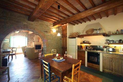 Downstairs Kitchen (yes there are two kitchens!)