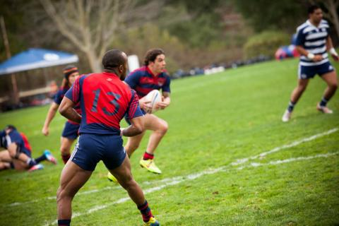 Men's Rugby vs. BYU