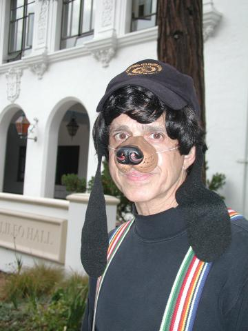Father Sal as Scooby Doo