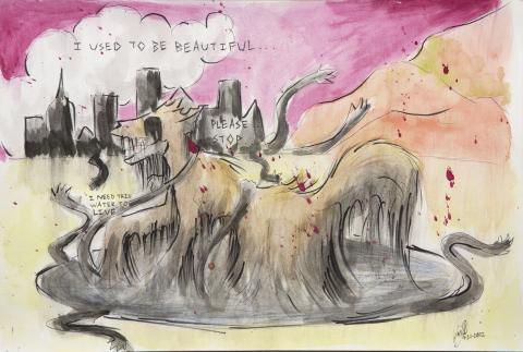 """""""Contaminated Life"""" by Joëlle (14), Tucson, AZ (c) 2014 River of Words"""