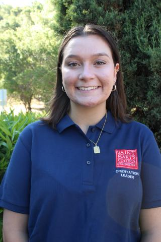 What's up Gaels! My name is Amanda Hofmann, and I'm a second year student from Livermore, California. I'm a double major in Justice, Community & Leadership and Communications. This year I'm on the Gael Force Executive Team, and I can't wait to get hyped up at games. See you all soon!