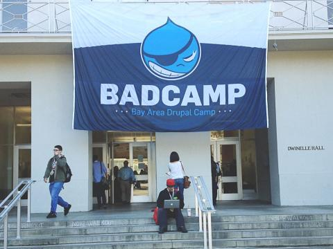 BADCamp 2012  was held at the U.C. Berkeley campus Nov. 1-4.