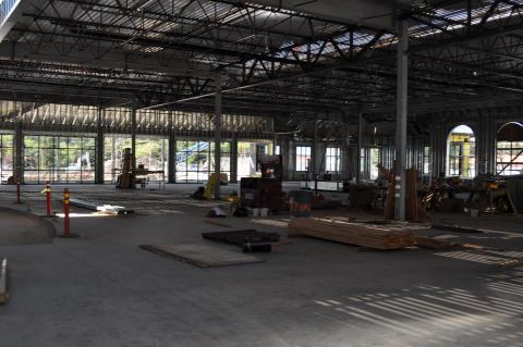 Cardio fitness center as of 6/9/14