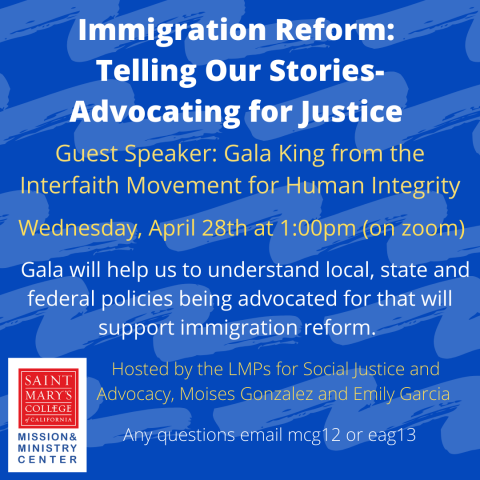 Immigration Reform April 28 Event thumbnail