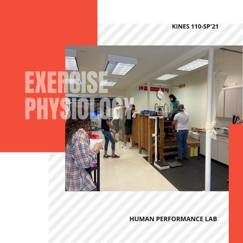kinesiology exercise physiology in the human performance lab