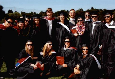 some members of the class of 2012